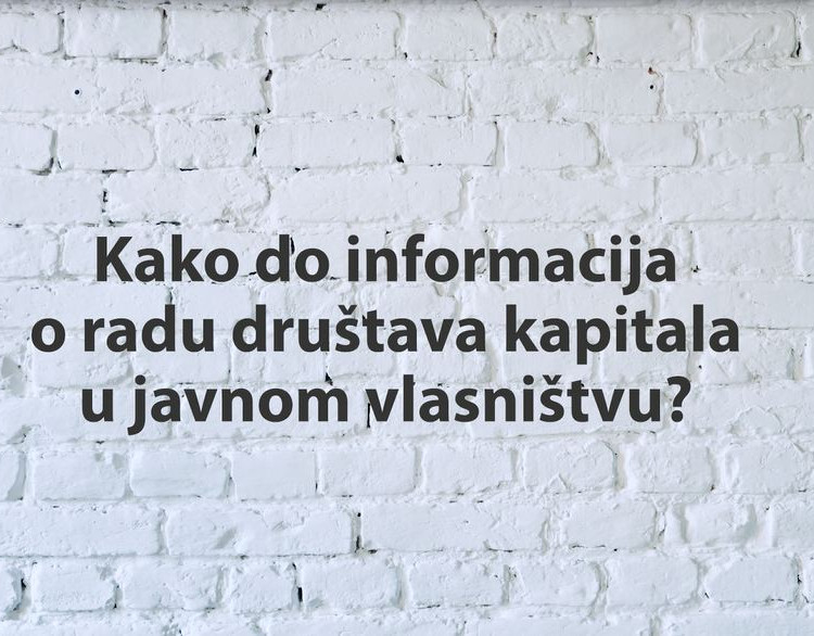 Kako do informacija u posedu organa javne vlasti?