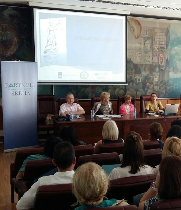 """Tribina """"Medijacija i advokatura"""" održana u Pančevu"""