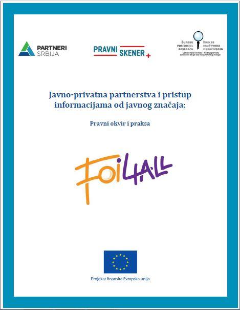 Analiza – Javno-privatna partnerstva i pristup informacijama od javnog značaja