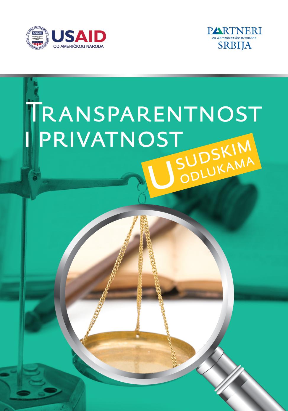Transparentnost i privatnost u sudskim odlukama