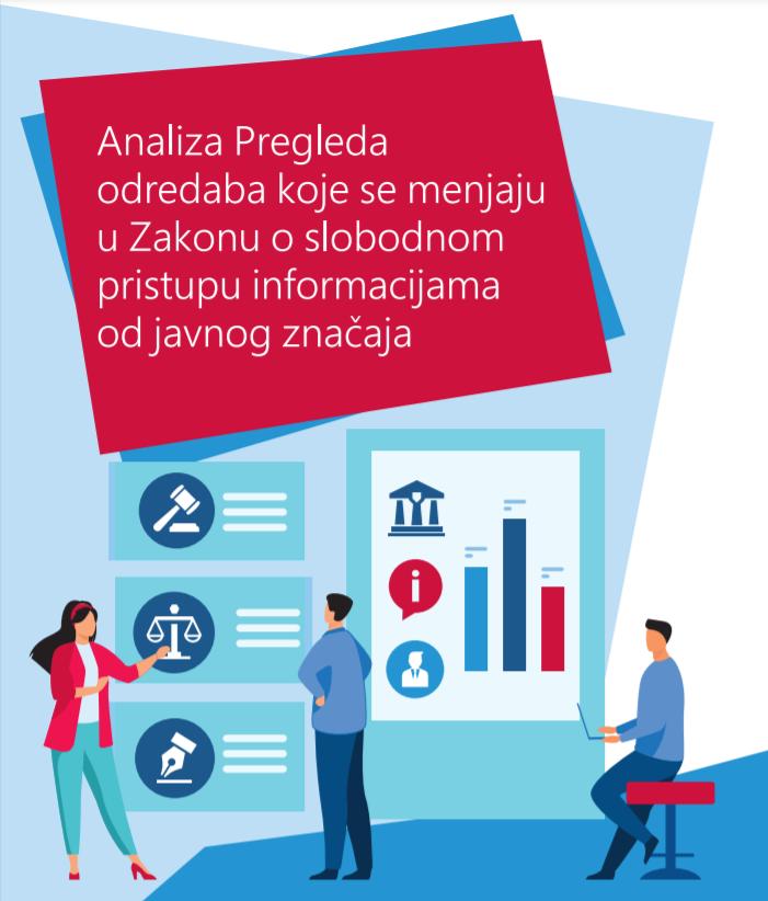 Analiza Pregleda odredaba koje se menjaju u Zakonu o slobodnom pristupu informacijama od javnog značaja
