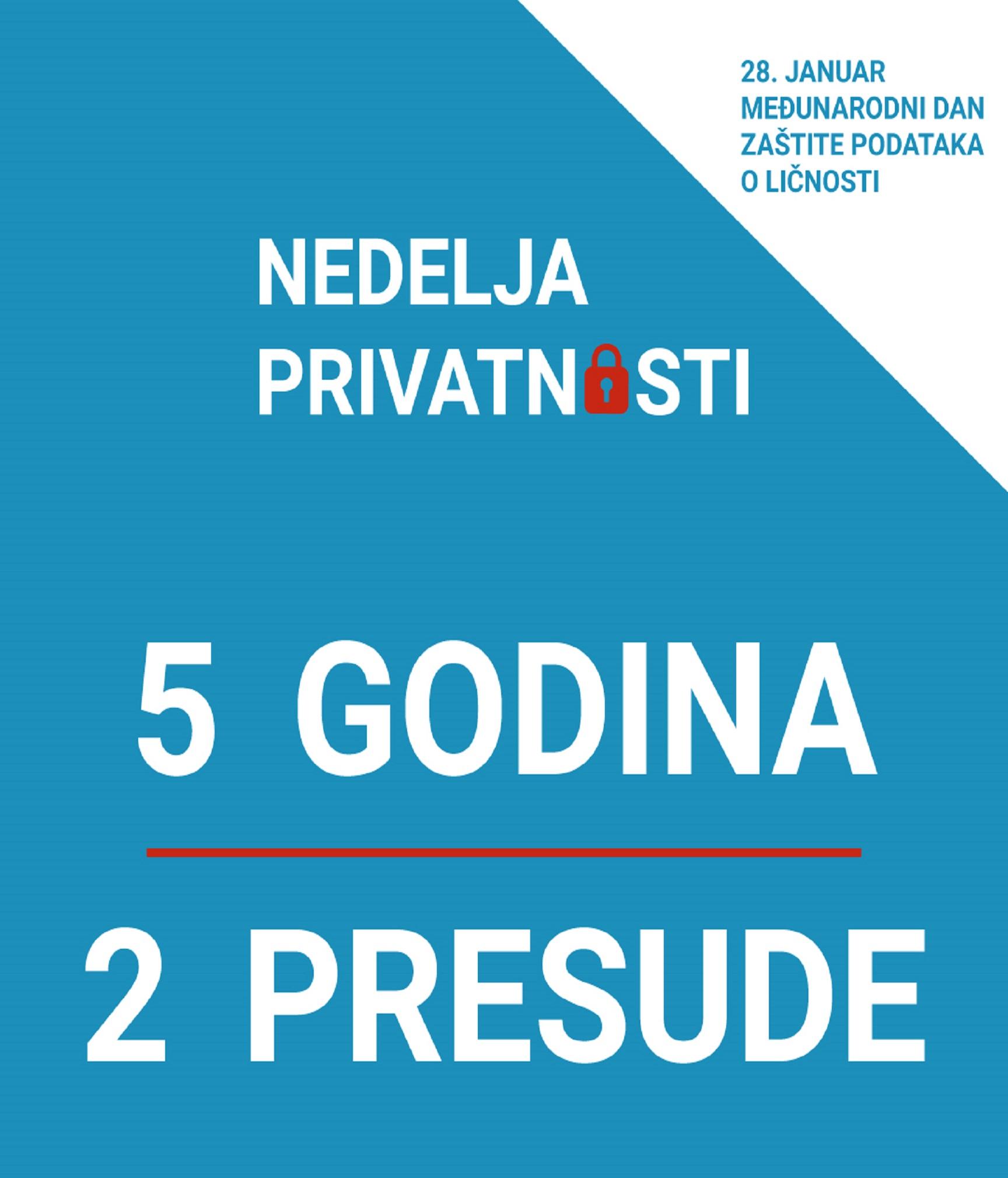 Postupanje javnih tužilaštava i sudova u Republici Srbiji u predmetima iz oblasti zaštite podataka o ličnosti
